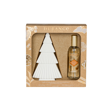 Christmas Sprays Uk.Ceramic Christmas Tree Spray 100ml Orange Cinnamon